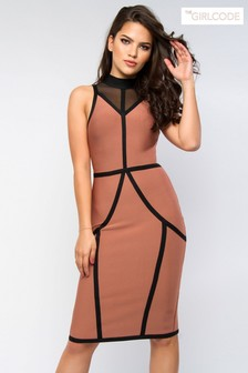 The Girl Code Contour Bodycon Dress