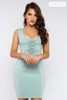 The Girl Code Bodycon Mini Dress
