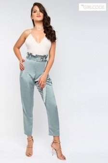 The Girl Code High Waist Trousers