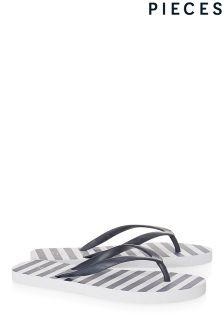 Pieces Stripe Flip Flop