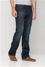 Dark Wash Belted Jeans