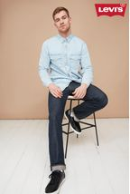 Levis 501 Marlon Rinse Wash Jeans