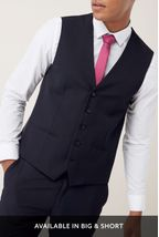 Navy Waistcoat