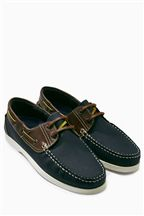 Traditional Leather Boat Shoes