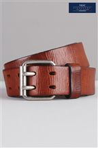 Leather Casual 2 Prong Belt