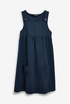 Jersey Pinafore Dress (3-14yrs)