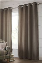 Harrison Mink Eyelet Curtains