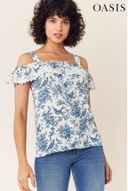 Blue Mix Print Shirt