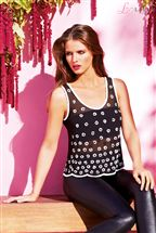 Lipsy Daisy Embellished Top