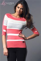 Lipsy Stripe Sweater