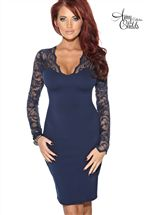Amy Childs Alesha Lace Dress