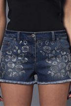 Lipsy Leopard Diamant Shorts