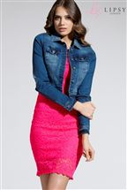 Lipsy Midwash Denim Jacket