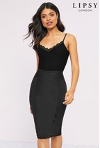Lipsy One Shoulder Glitter Dress