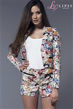 Lipsy Floral Jacket