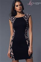 Lipsy Side Cornell Bodycon Dress