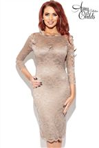 Amy Childs Georgia 1/2 Sleeve Lace Dress