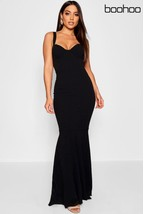 Melika Bernie Halter Maxi Dress