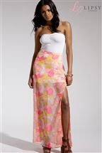 Lipsy Split Detail Maxi Skirt
