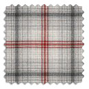 Woollen Check Kinross / Charcoal