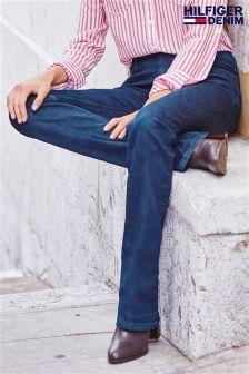 Denim Dk Wash Tommy Hilfiger Sandy Boot Cut Jean