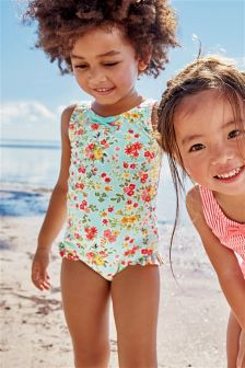leg frill swimsuit (3mths-6yrs)