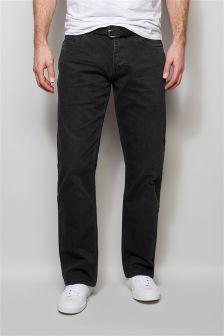 Black Belted Jeans