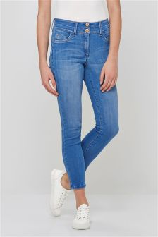 Lift, Slim And Shape Cropped Jeans