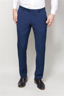 Bright Blue Suit: Trousers