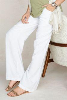 Linen Blend Trousers