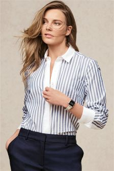 Blue Stripe Formal Shirt