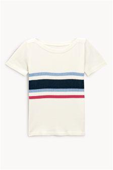 Short Sleeve Boat Neck Sweater