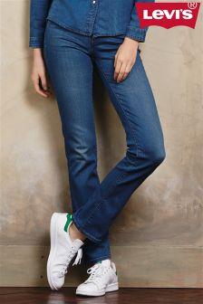 Antique Wash Levi's® 714 Straight Leg Jean