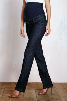 Over The Bump Slim Jeans
