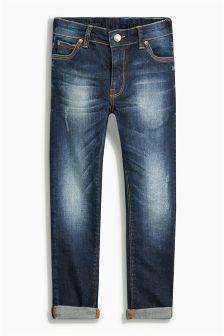 Dark Blue Super Skinny Jeans (3-16yrs)