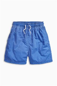Washed Swim Shorts (3-16yrs)