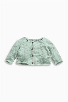 Mint Knitted Cardigan (0mths-2yrs)