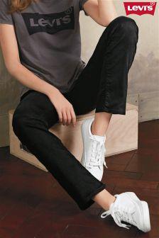 Black Levi's® 714 Straight Leg Jean