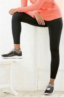 Black Tech Full Length Leggings