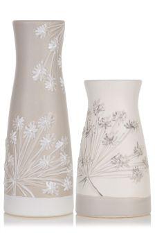 Set of 2 Penrose Vases