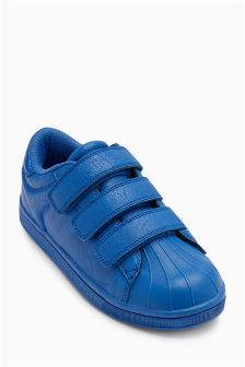 Shell Toe Triple Strap Trainers (Older Boys)