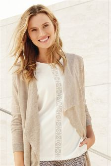Lace Panel Shell Top