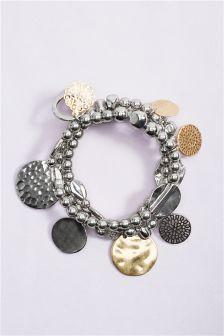 Gold/Silver Tone Expander Bracelet Pack