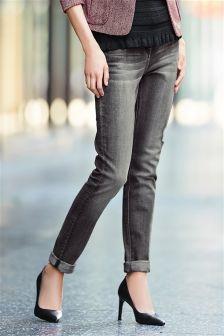Belted Cigarette Jeans