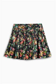 Print Floral Flippy Skirt (3-16yrs)