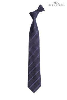 Signature Striped Tie