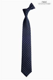 Signature Patterned Tie