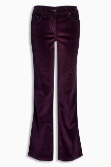 Cord Boot Cut Trousers