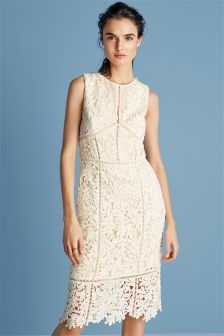 Leaf Lace Dress