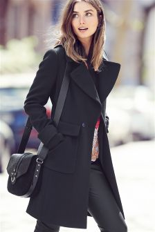 Large Pocket Coat